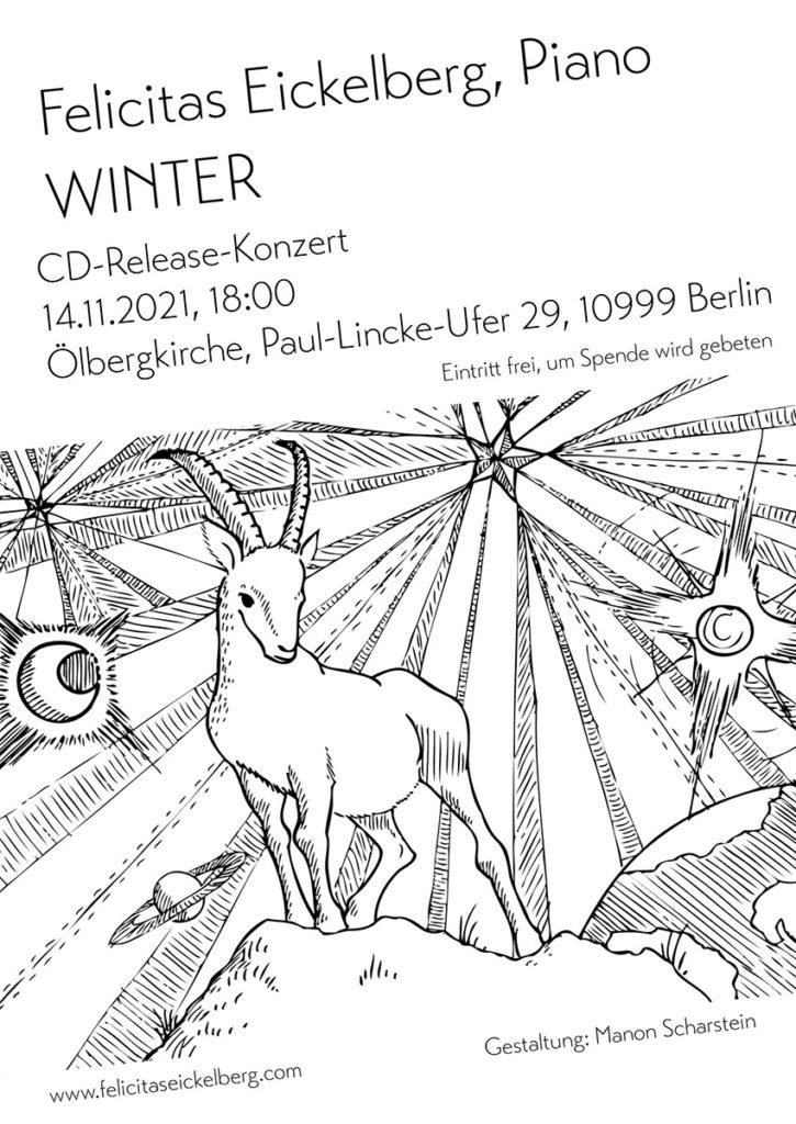 Plakat: Felicitas Eickelberg CD Release Winter