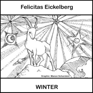 CD Cover Felicitas Eickelberg - Winter