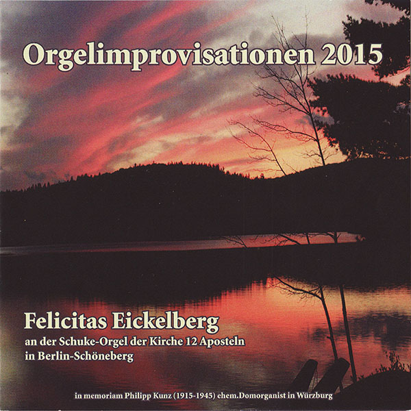 CD Orgelimprovisationen (2015)