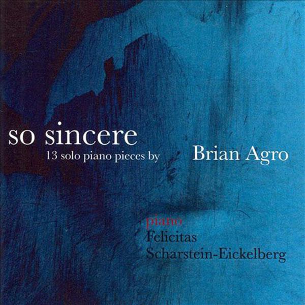 CD So Sincere (2007)